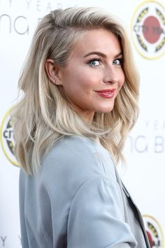 Julianne Hough, gorgeous as always, in EF Collection Moonstone Slice Earrings.