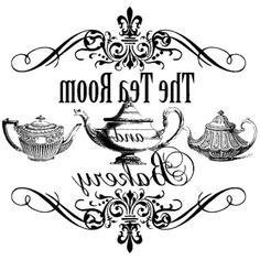 .The tea room