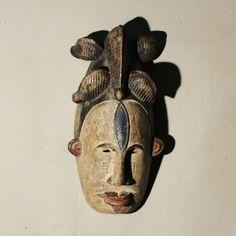 Guarda questo articolo nel mio negozio Etsy https://www.etsy.com/it/listing/473790056/kokumou-african-mask-from-etnia