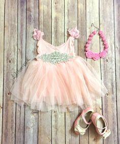Jewel+Tulle+dress+in+Dusty+Pink $33 shipped