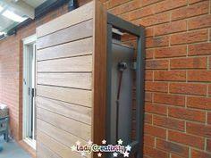 Lady Creativity: DIY Timber Hot Water Heater Screen