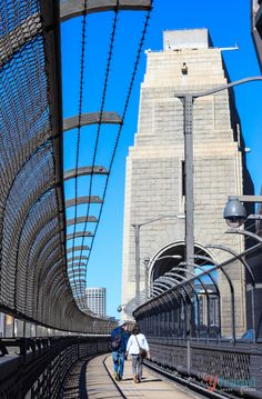 Walking across the Sydney Harbour Bridge -- Curated by: Ecora Engineering & Resource Group   579 Lawrence Avenue Kelowna BC v1y 6l8   250-469-9757