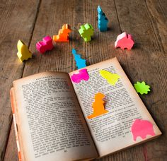 Silly Notes Sticky Page Markers - $10