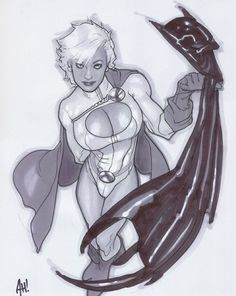 Power Girl Gallery Pictures -Adam Hughes