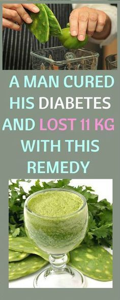 STORY OF A MAN WHO A MAN CURED HIS DIABETES AND LOST 11 KG IN 25 DAYS WITH HOMEMADE REMEDY !!!