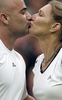 Love all for Andre and Steffi !