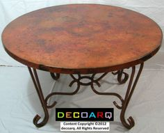 54-ROUND-COPPER-TABLE-TOP-NATURAL-finish-FORGED-ROUND-WROUGHT-IRON-base