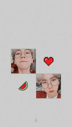 Chanyeol, Kyungsoo, K Wallpaper, Homescreen Wallpaper, Exo For Life, Cute Lockscreens, Baekhyun Wallpaper, Boy Idols, Exo Lockscreen