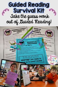 Take the guess work out of guided reading! This blog post will tell you all the tips and tricks to organizing your guided reading groups with ease!