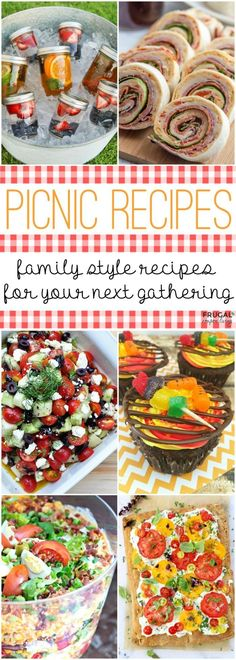 Picnic Food Ideas - Tasty picnic recipes that can be prepared and enjoy outdoors. Family style recipes for your next gathering on Frugal Coupon Living. Picnic Food Ideas - Tasty picnic recipes that can be prepared and enjoy outdoors Picnic Menu, Picnic Dinner, Picnic Lunches, Picnic Ideas, Summer Picnic, Picnic Date Food, Picnic Parties, Picnic Time, Summer Food
