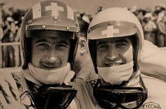 Jo Siffert and Clay Regazzoni - two great drivers !!