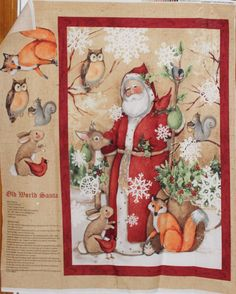 http://www.ebay.com/itm/Susan-Winget-Christmas-Old-World-Santa-Fabric-SOLD-SEPARATELY-Springs-Creative-/391467052134?var=