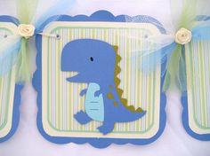 Dinosaur baby shower!  RAWR