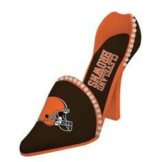 Cleveland Browns High Heeled Shoe Decorative Wine Bottle Holder >>> Details can be found by clicking on the image.