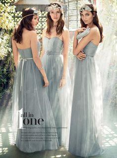 David's Bridal Online Catalog   color Mystic