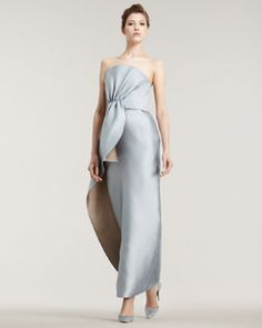 Giorgio Armani  Double-Face Silk Gown