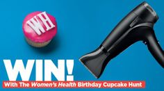 Win A GHD Hairdryer In The Cupcake Challenge