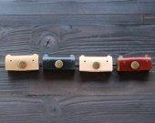 Loopy - Genuine Leather Earphone Holder / Earphone Case / Earphone Organizer in Handmade ( Buy 2 get 1 Free )