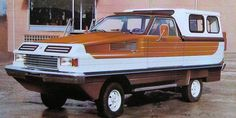 The Herzog Conte Schwimmwagen was an incredibly ugly amphibious vehicle built in Germany in the late 1970s. It was based on a MK1 Ford Granada.