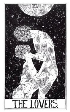 The Lovers - Tarot Cards