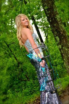 Alli Armstrong-Prom with Mathews Jewel Bow