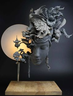 Sculpture by Yuanxing Liang