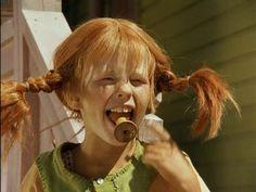 Pippi Pippi Longstocking, Pepsi, Good Movies, Red Hair, Children, Kids, Childhood, Memories, Boho