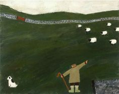 Gary Bunt | My Poor Paws  Away away come round lay down Up hill and dale so steep My legs are tired my poor paws ache So go and fetch your own bloody sheep