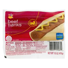 Stop & Shop Beef Franks Gluten Free - 8 ct - E-Commerce Front
