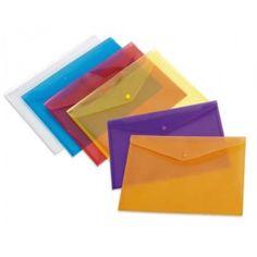 10 Sobres de polipropileno folio apaisado lila - El Compas online