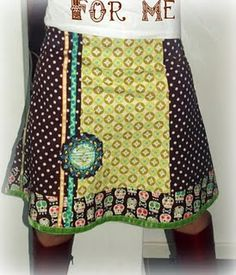 Cute skirt by Emma, pattern by: http://www.farbenmix.de/shop/Schnittmuster/Roecke/Langeness-Schnittmuster::10059.html #sewing