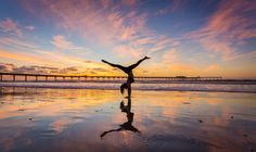 Photograph Yoga Sunset by Hiep Le on 500px
