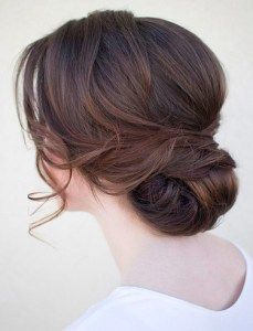 A soft, updo for a welcome night/sangeet/raas garba night