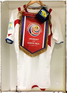 #Brasil2014 | Costa Rica (@FEDEFUTBOL_CR) ya está preparada en el Estadio Castelão: http://fifa.to/1sepiet #URUCRC