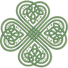 Bilderesultat for celtic knot shamrock Irish Tattoos, Celtic Tattoos, Tribal Tattoos, Tattoos Skull, Celtic Quilt, Celtic Symbols, Celtic Art, Celtic Knots, Celtic Mandala