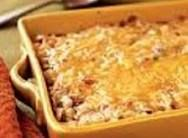 This is one steamy, creamy, cheesy, loaded potato bake, YUMMMMMMM!    LOADED HASHBROWN BAKE  1 pkg. Pam's Pantry Linda's Loaded Potato mix  8 oz Cream Cheese  1/2 cup Milk  20 oz pkg Hashbrowns    Soften cream cheese in microwave for 1 full minute on high. Add Linda's Loaded Potato mix and 1/2 cup of milk. Stir well. In a baking dish, microwave hashbrowns for 5 minutes on high. Add Loaded Potato mixture to the hashbrowns and stir well. Bake in oven at 400 degrees for 20-25 minutes.