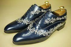 PICCADILLY #scarpe da sposo realizzate con ricamo che ne esalta l'eleganza