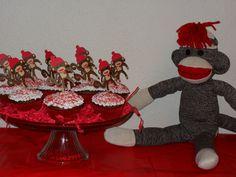 Sock Monkey birthday party  3-24-12