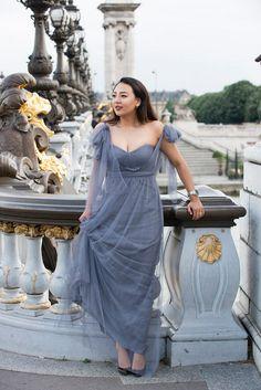 Valentino engagement dress | Image by WeddingLight Paris