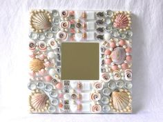 maritime Bad Dekoration weiß rosa pastell silber mit von LonasART