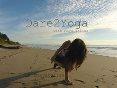 What can be better than yoga on the beach. Life is good!