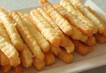 Velmi jednoduché sýrové tyčinky připravené za 20 minut!