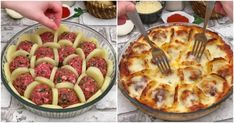 Ideas for party food chicken main dishes Beef Recipes, Chicken Recipes, Cooking Recipes, Sauce Béchamel, Tasty Meatballs, Loaded Baked Potatoes, Russian Recipes, Appetizers For Party, Creative Food