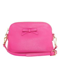Cute Bags, Ticks, Accessories Shop, Gold Hardware, Bobs, Cross Body, Hot Pink, Shoulder Strap, Zip Around Wallet