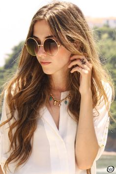 zerouv oversize round sunglasses 8370; so getting some of these this summer!!