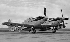 F-82 Twin Mustang armed with four Firebird AAMs