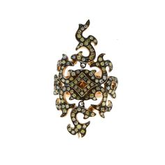 Ring made of gold with multicolor diamonds Diamonds, Brooch, Rings, Gold, Jewelry, Jewlery, Jewerly, Brooches, Ring