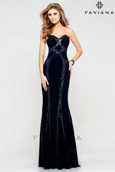 Faviana Style 7582 $309.99 Faviana Category Prom Dresses