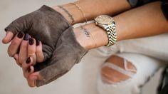 BCBGirls gloves, bcbg.com. Rolex watch, rolex.com.   - HarpersBAZAAR.com