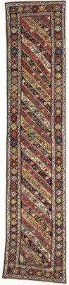 KARABAGH RUNNER  SOUTH CAUCASUS, CIRCA 1890  15ft. x 3ft.3in. (457cm. x 99cm.) I Christie's Sale 7039